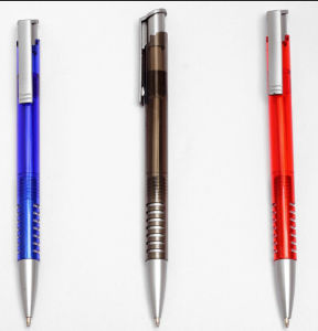 Free Ball Pen Sample, Promotion Plastic Click Pen pictures & photos