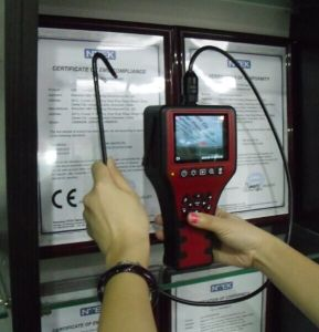 Electronic Endoscope with 4-Way Articulation, 3.5′′lcd, 1.2m Testing Cable pictures & photos