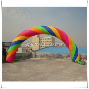 Popular Type Colorful Inflatable Arch Door for Advertising