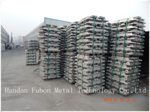 Bulk Aluminum Ingot /99.8% Minimum Full Ingot pictures & photos