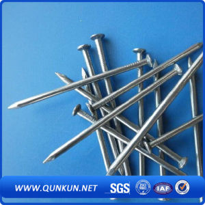 Q195 Bwg3-20 Bright Polish Galvanized Roofing Nails From China Qunkun Factory pictures & photos