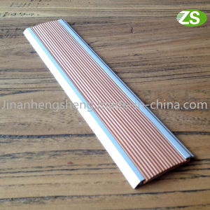 Aluminum PVC Non Slip Inserts Stair Nosing Protection pictures & photos