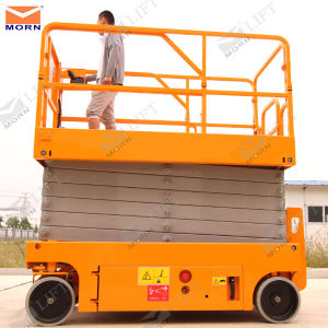 10m Battery Power Hydraulic Lift pictures & photos