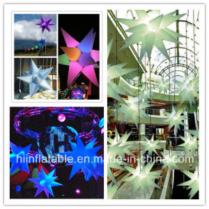 Customized Event Decoration LED Lighting Inflatable Star No. A002 with LED Light Forsale