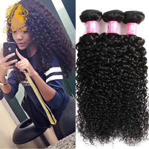Malaysian Virgin Hair Kinky Curly Hair 3 Bundles 8-30 Inch, 7A Unprocessed Malaysian Kinky Curly Virgin Hair Human Hair Extension pictures & photos