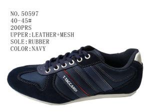Navy Color Men Casual Shoes pictures & photos
