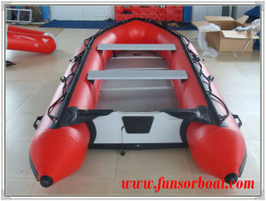 Inflatable Speed Boat with Plywood Floor (FWS-A360) pictures & photos