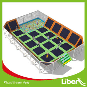 Liben Company Producer Indoor Trampoline Area with Ball Pool pictures & photos
