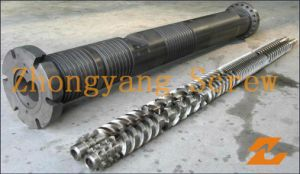 Zyt419 Parallel Twin Screw Barrel for Extruder Machine pictures & photos