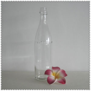 Clear Glass Swing Top Bottle 500ml pictures & photos