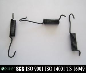 Customed Auto Parts Extension Spring with Hook pictures & photos