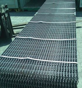 Black Steel Grating Panel