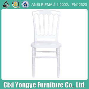 Durable White Color Plastic Napoleon Chair for Event pictures & photos