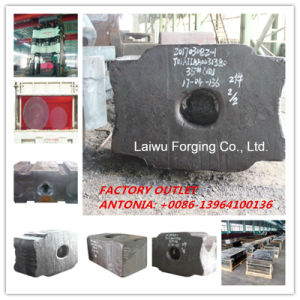 Forged Block Open Die Forging up to ISO9001 Standards According to User′s Drawings pictures & photos
