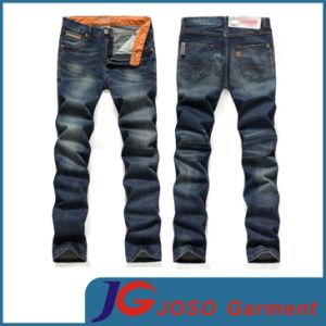 Basic Men′s Regular Straight Leg Jeans (JC3262) pictures & photos