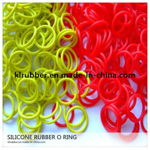 Color Silicone Rubber O Ring with Excellent Performance pictures & photos