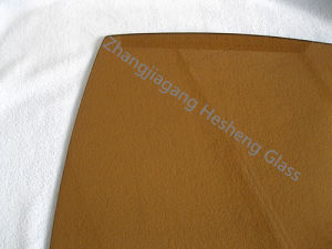 5mm Thick Light Brown Tempered Glass