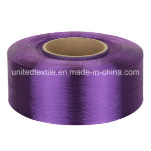 100% Polyester Dope-Dyed Filament Yarn for 100d/48f Full Dull FDY pictures & photos