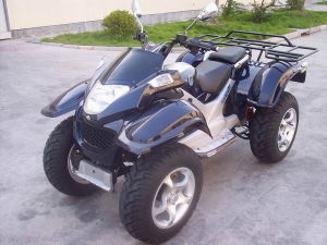 260cc EEC Sports ATV with Independent Suspension and Shaft Drive (HDA260E-S)