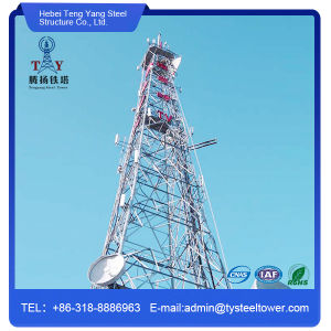 Self Supporting 4 Legged Steel Lattice Tower pictures & photos