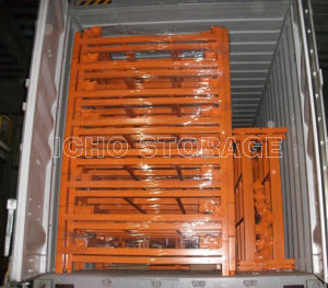 Foldable & Stackable Heavy Duty Wire Mesh Container for Warehouse Storage pictures & photos