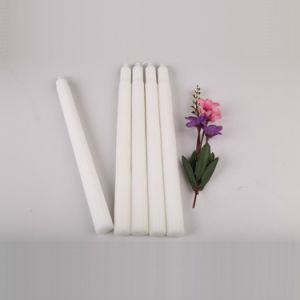 72g Large White Fluted Candles to Nigeria pictures & photos