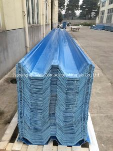 FRP Panel Corrugated Fiberglass/Fiber Glass Color Roofing Panels C172009 pictures & photos
