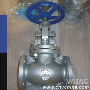 Through Way Flange Globe Valve pictures & photos