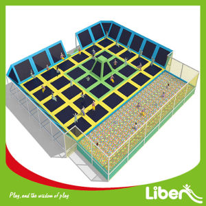 New Large Trampoline with CE Certificate in Trampoline Park Le. Bc. 048 pictures & photos