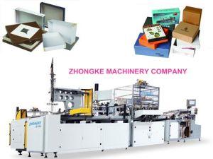 Chipboard Paper Box Making Machine (ZHONGKE) pictures & photos
