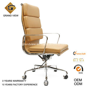 Classical Eames Aluminium Leather Swivel Manager Office Chair (GV-EA219) pictures & photos