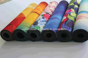 Natural Rubber Printing Nr Yoga Mat