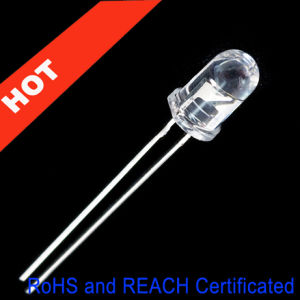 5mm Ultra Bright LED Lamp with Water Clear LED Len