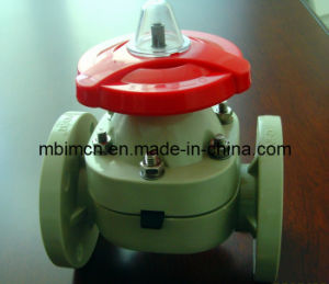 Flange Type UPVC Diaphragm Valve pictures & photos