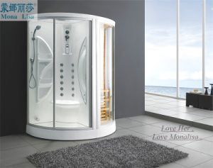 Sliding Glass Steam Shower Room with Sauna (M-8258) pictures & photos