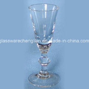 Hand Made Clear Champagne Glass (B-CP016) pictures & photos