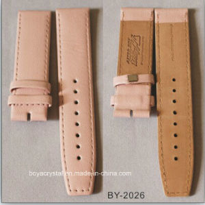 Colored Leather Watch Strap for Lady′s Watch by-2026