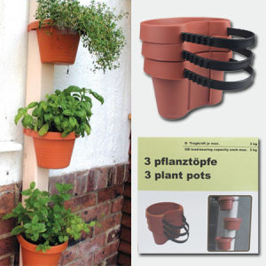 3 Plant Pots, Garden Pots, Flower Pots pictures & photos
