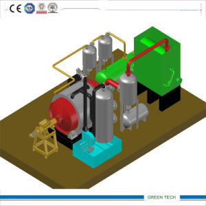 Pollution Free Type Pyrolysis Machine and Its Accessories pictures & photos