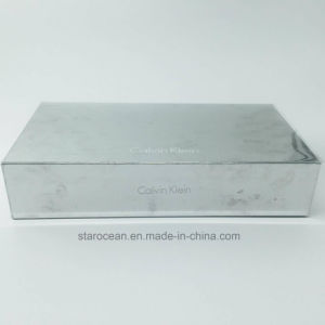 Plastic Cosmetics Box for Calvin Klein with Silk-Screen Printing pictures & photos