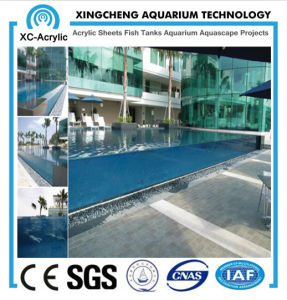 Customized Flat PMMA Panel of Pop Swimming Pool pictures & photos