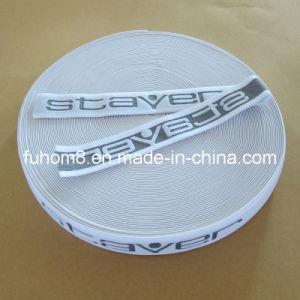Custom Jacquard Logo Nylon Elastic Strap / Waistband pictures & photos