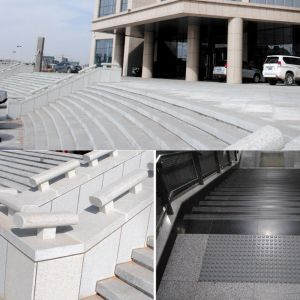 Directly Manufacture Cheap Natural Granite Stair Stone Step pictures & photos