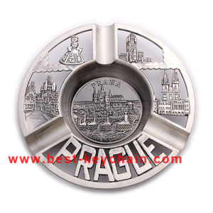 Souvenir Chile Metal Plates Gift Praha Emboss Logo Ashtray (BK53347) pictures & photos