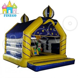 Hot Sale PVC Crazy Fun New Pricess Used Commercial Jumping Castle Material pictures & photos