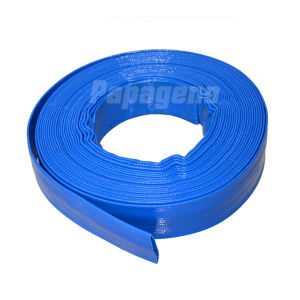 "3/4""~14"" PVC Layflat Hose / Discharge Hose/ Lay Flat Hose Manufacturer pictures & photos"