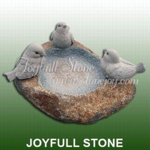 Natural Stone Birdbath (GBB-017)