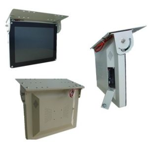 "15""TFT LCD Monitor with USB/SD for Bus"