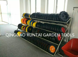 Qingdao Made Top Quality Durable Cheap Air Rubber Wheel (4.80/4.00-8) pictures & photos