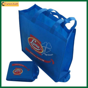 Printed Non Woven Shopping Folding up Bag (TP-FB098) pictures & photos